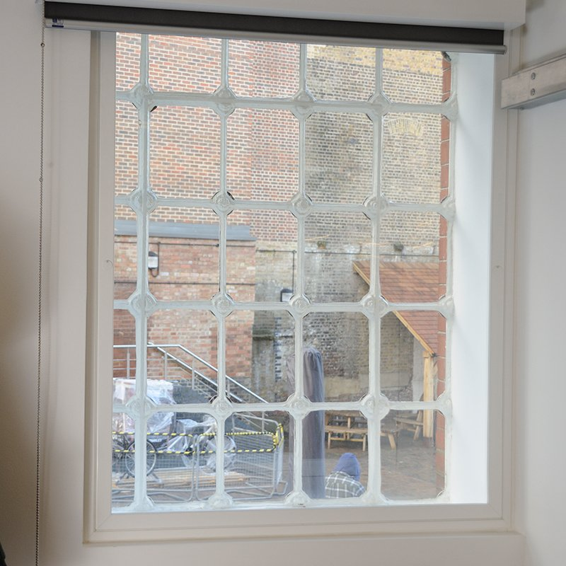 Selectaglaze bespoke secondary glazing units installed for acoustic and thermal benefit of office workers