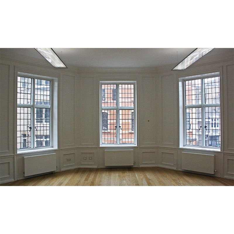 Sloane Street - Horizontal secondary glazing to large bay window