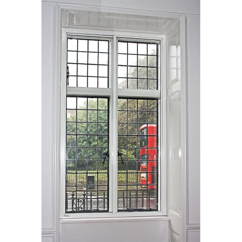 Acoustic vertical sliding secondary window - cuts out traffic noise