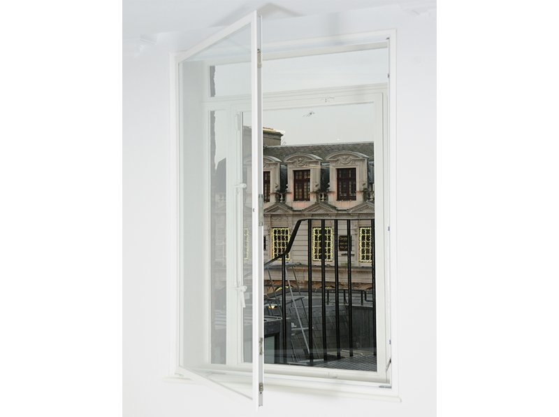 Hinged casement secondary window - Pollen House