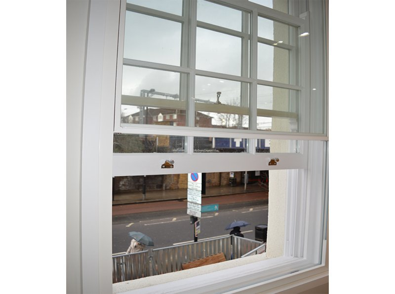 Selectaglaze secondary glazing Series 20 at a Victorian Townhouse 400 Caledonian Road