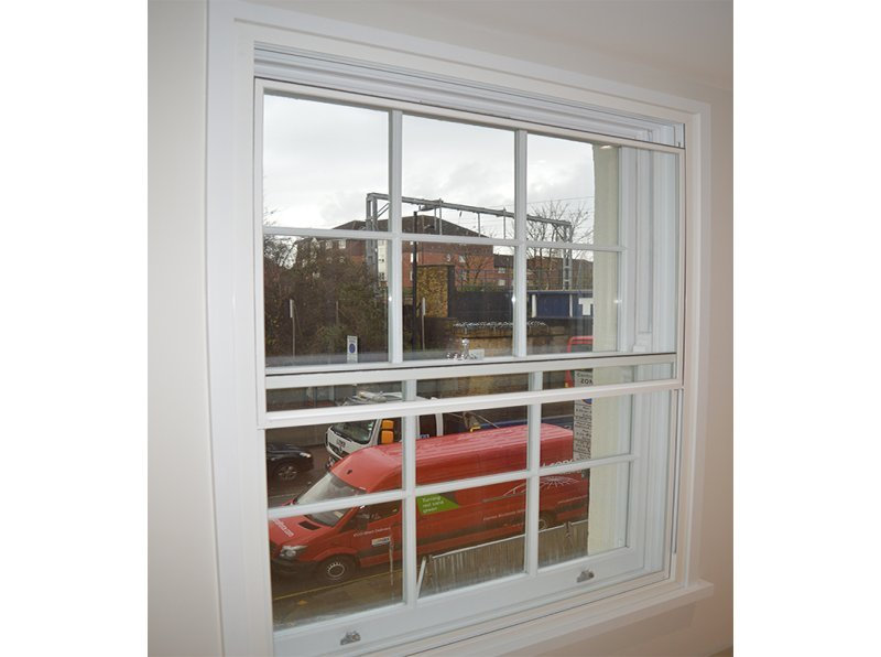 Grade II Listed 400 Caledonian road with selectaglaze vertical sliding secondary glazing