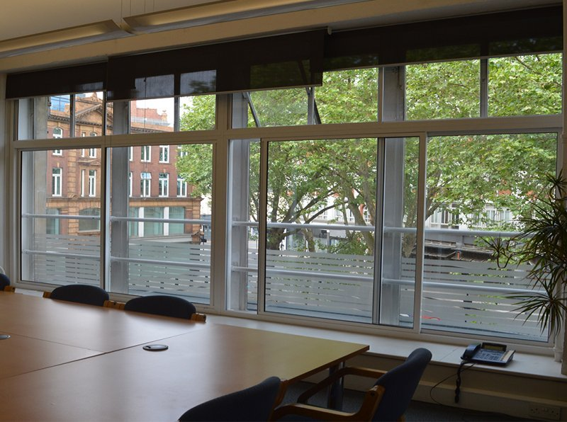 The Building Centre CIC office with Secondary Glazing for heat conservation and noise reduction