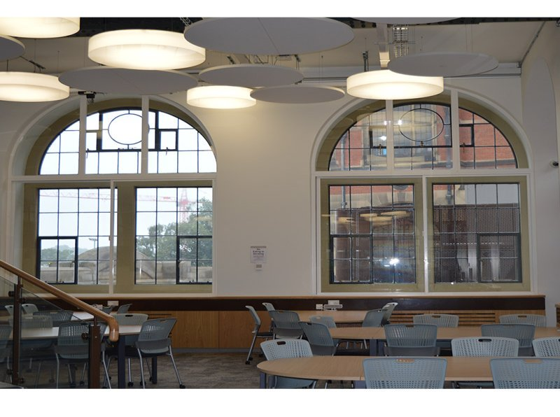University of Birmingham Lecture Theatre - sound insulating secondary glazing
