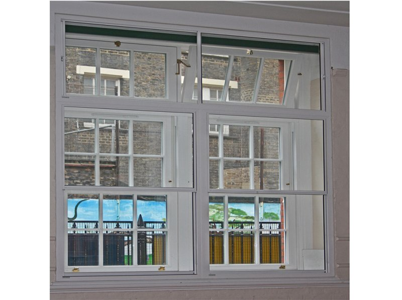 Selectaglaze secondary double glazing retroffited to reduce noise ingress at St Josephs primary school in Camden