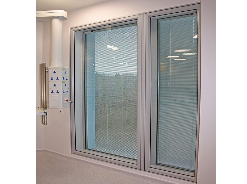 Secondary glazing for security and infection control
