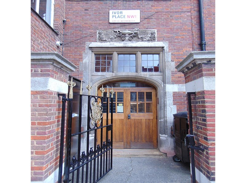 Francis Holland School Entrance, Ivor Place London