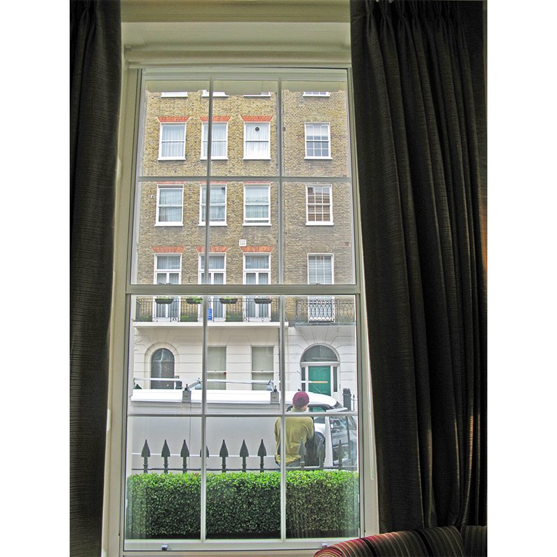 Series 20 Arch Hotel - secondary glazing vertical slider