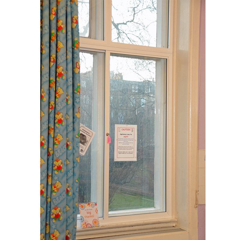 Selectaglaze secondary glazing for noise prevention and added security at Bishops House Childrens Centre