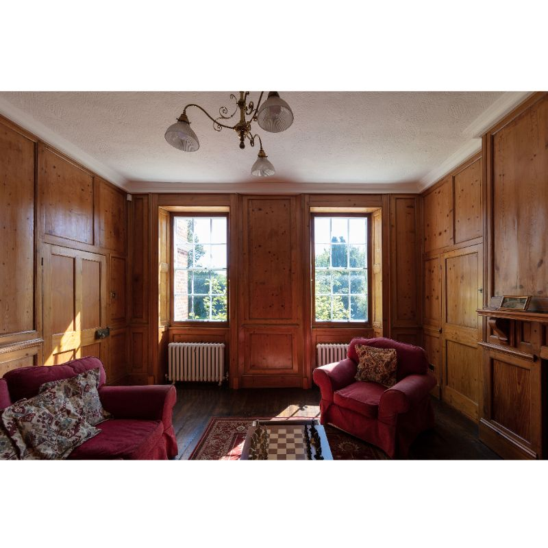 Wood Panelled Room Thermal Secondary