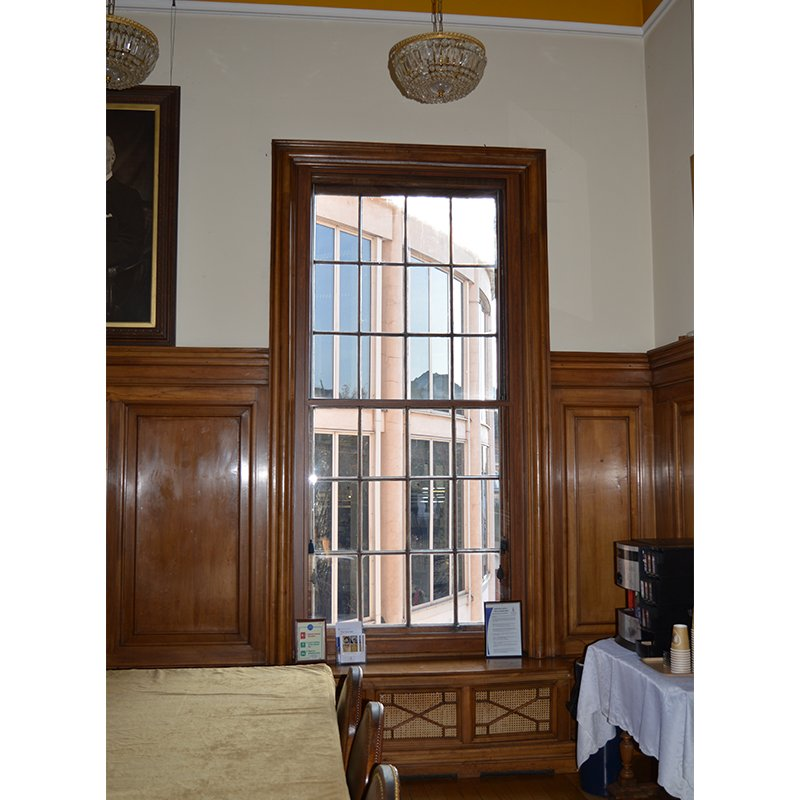 Noise insulating secondary glazing by Selectaglaze at Braintree Town Hall