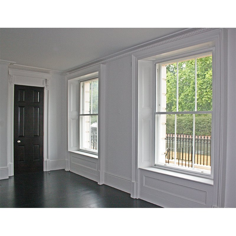 Cornwall Terrace with security secondary glazing to make the property more secure and safe