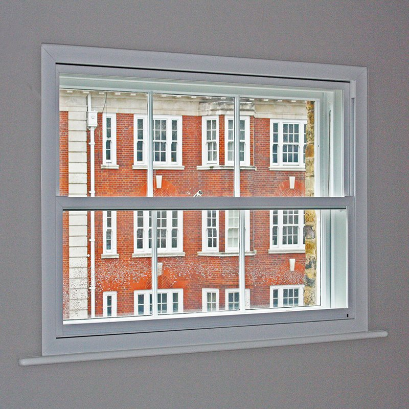 Secondary double glazed windows for enhanced thermal performance