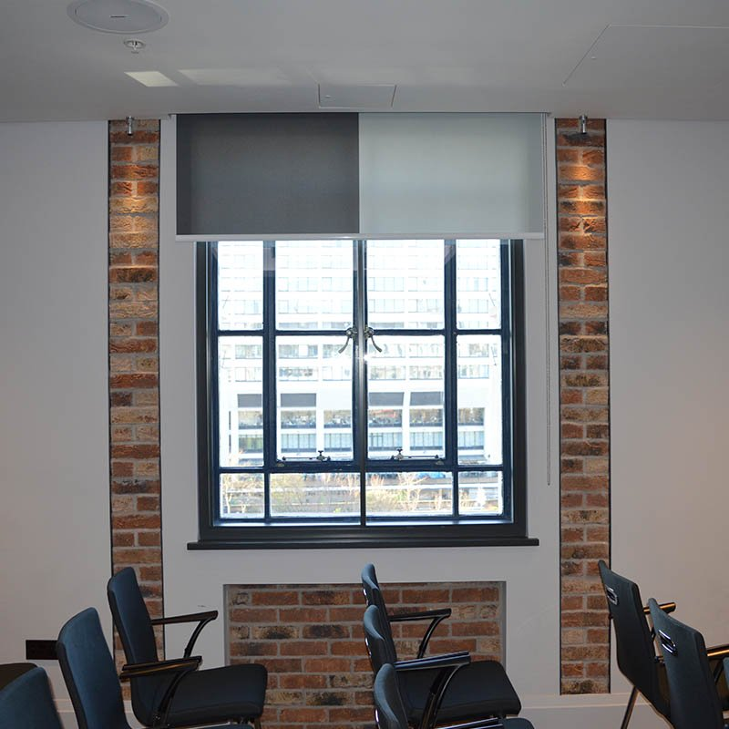 County Hall function room, thermal secondary glazing, window improvements