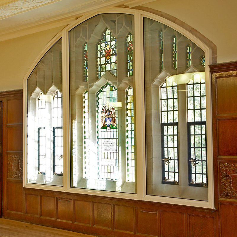 Selectglaze security secondary glazing at the Supreme Court lobby