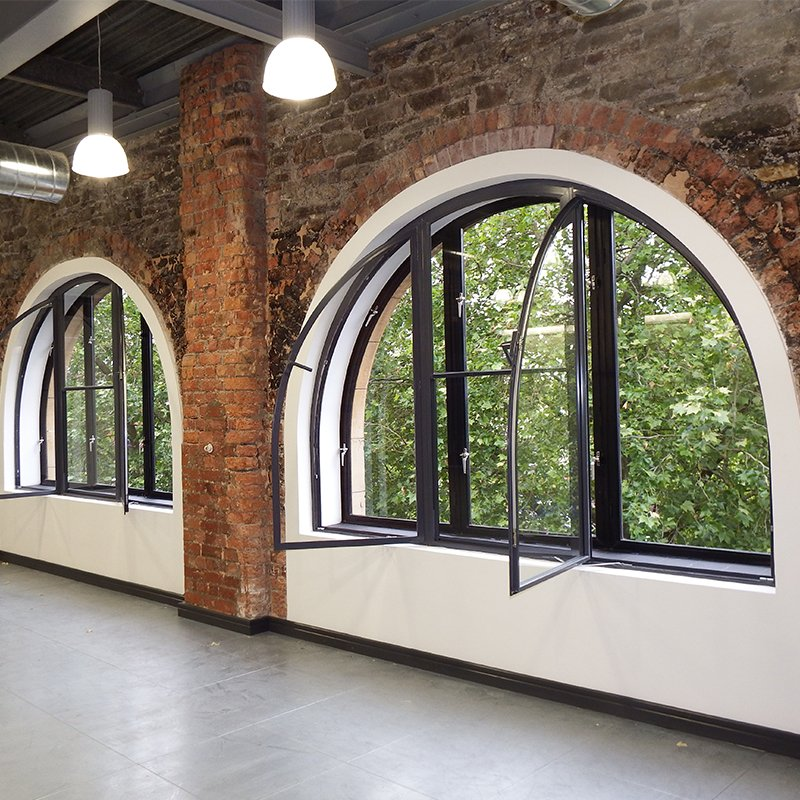 Original primary windows given new lease of life with bespoke secondary glazing - Bristol office