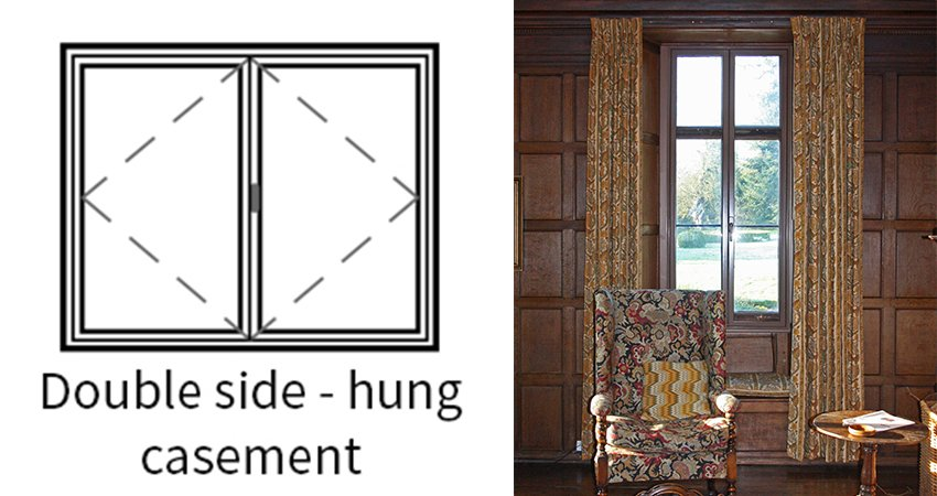 Series 45 Double hung casement