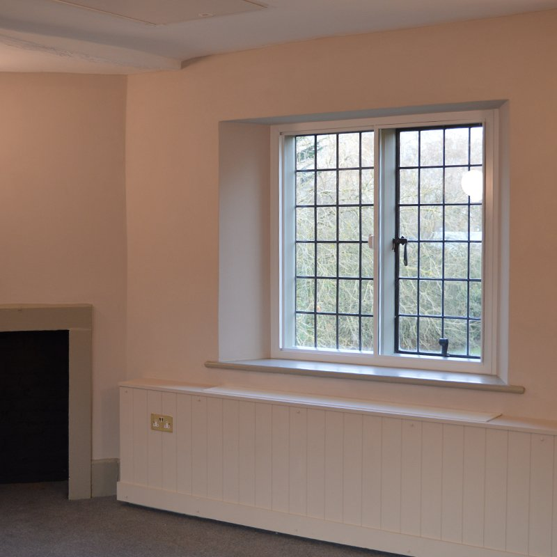 Fulham Palace refurbished office with thermal secondary glazing to raise energy efficiency