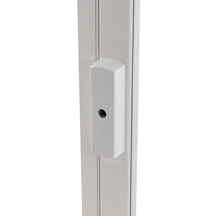 H9 Rosette (square drive with removable key) for hinged casement secondary glazing