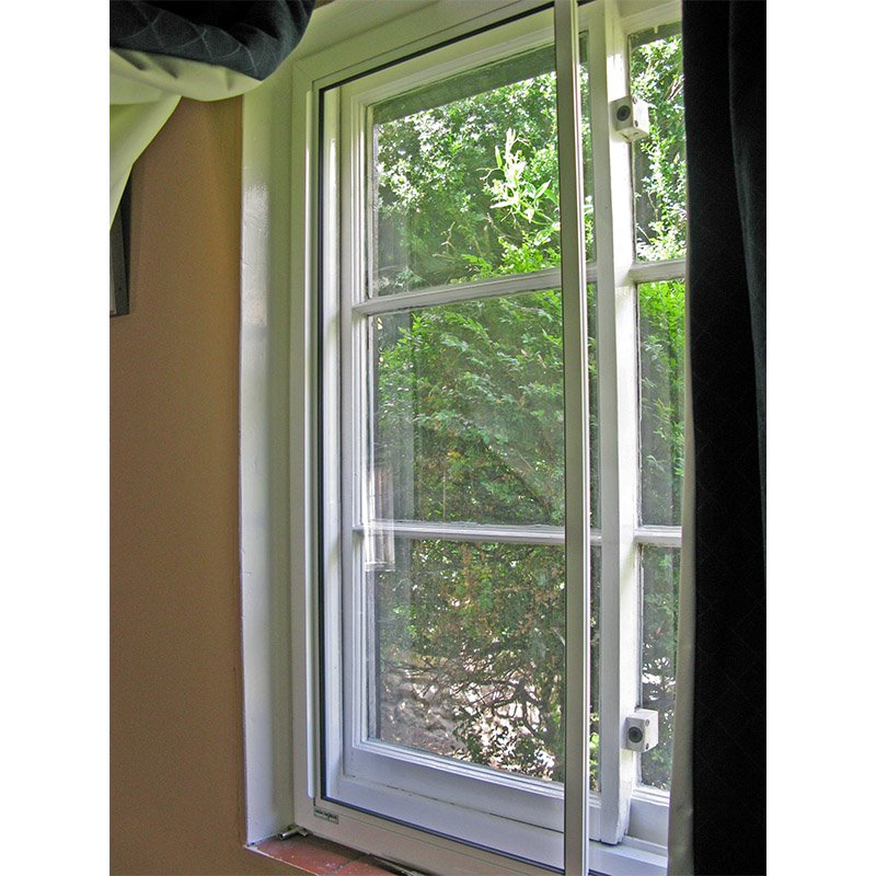 Slimline HS secondary units to enhance thermal and acoustic properties of existing primary windows