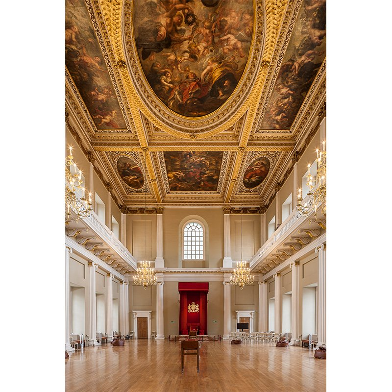 Beautiful ceiling paintings by Rubens now protected for future generations - bespoke Series 50