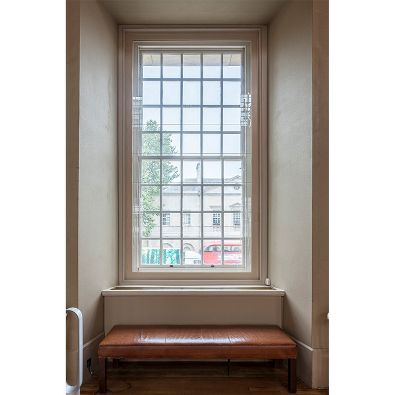 Banqueting House hinged casement security windows