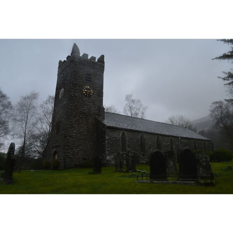 Outside view of Jesus Church Troutbeck