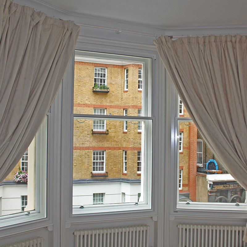 Ridgemount gardens with series 60 tilt in secondary glazing