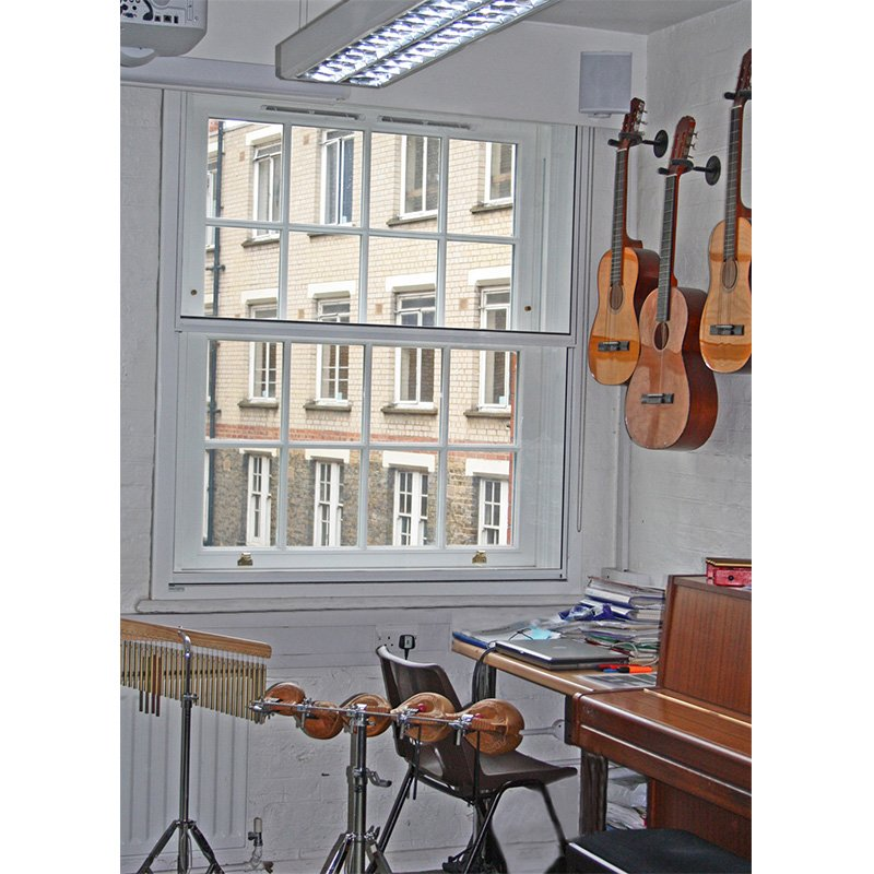 Selectaglaze secondary double glazing for a music room at St Josephs school, Camden