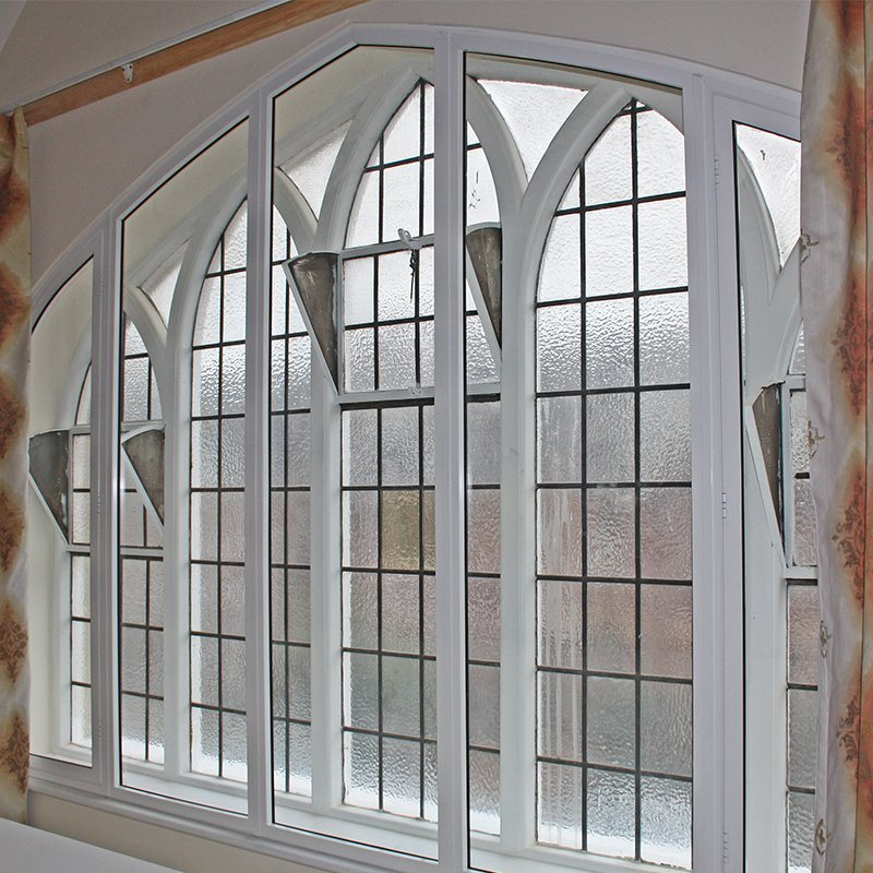 Selectaglaze secondary glazing for thermal retention at St Pauls Chruch, St Albans