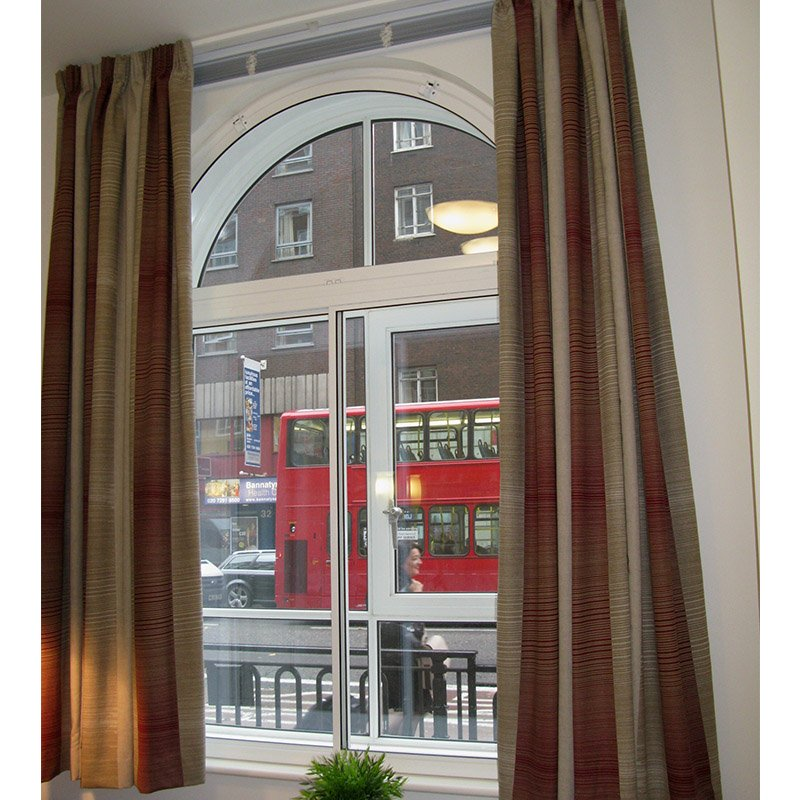 Student room in Woburn Place with Selectglaze noise reduction secondary glazing