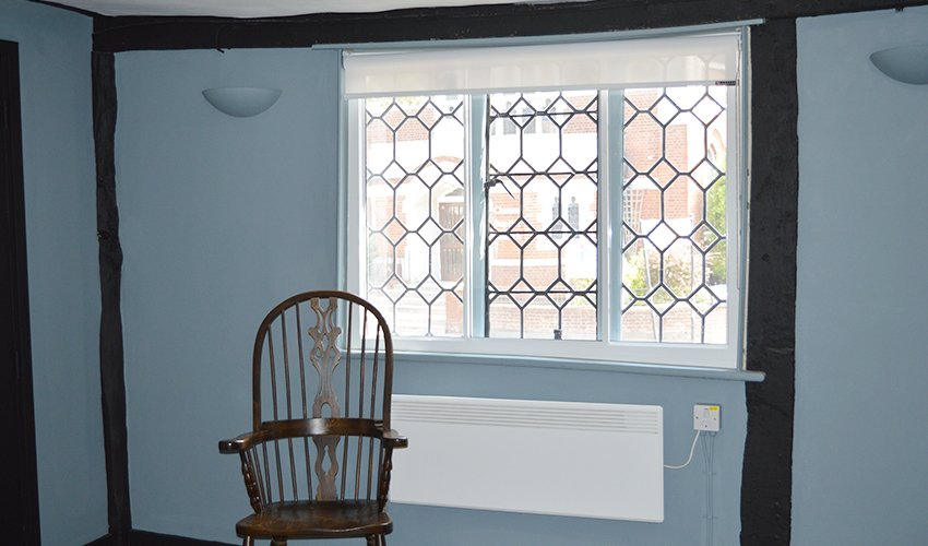 How to treat a tapered window reveal