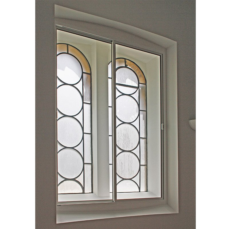 Secondary windows Abbey Road horizontal slider series 80