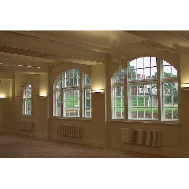Barry Town Hall arched secondary glazing