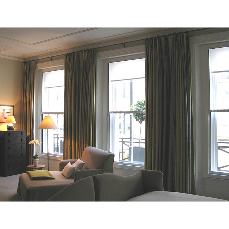 Browns Hotel room peace and quiet with large vertical sliding secondary glazing