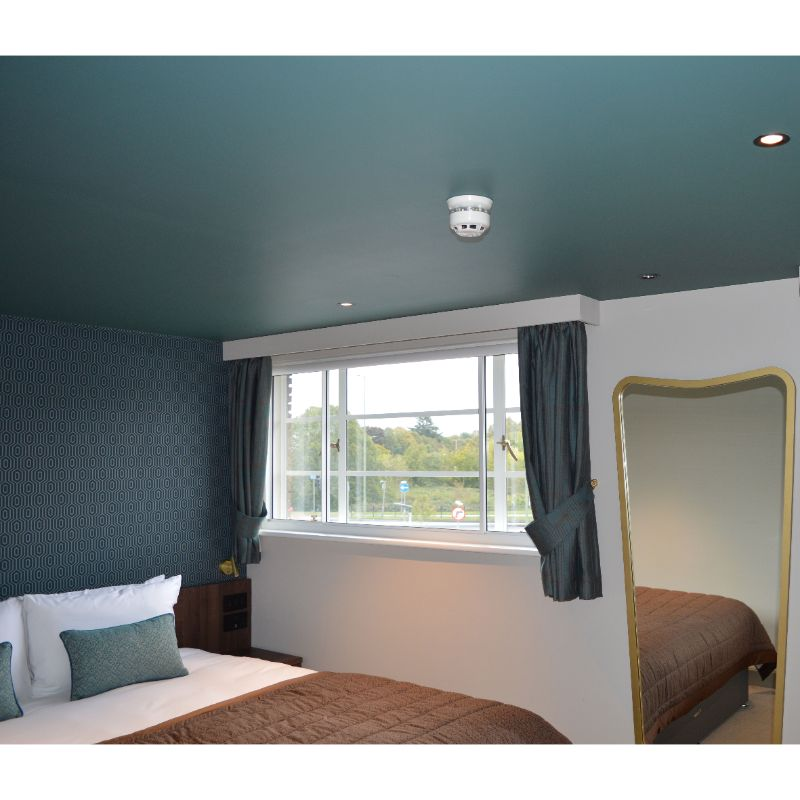 Secondary Glazing solution for guestroom at Comet Hotel