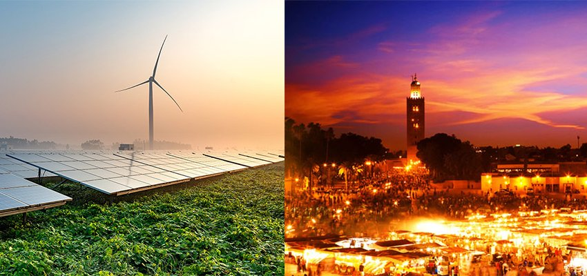 A call to action content - wind power - city scape