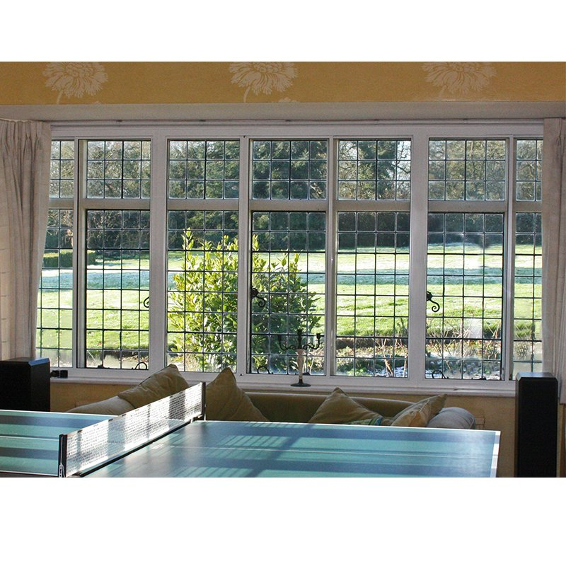 Games room with primary leaded lights treated with secondary glazing to improve well-being