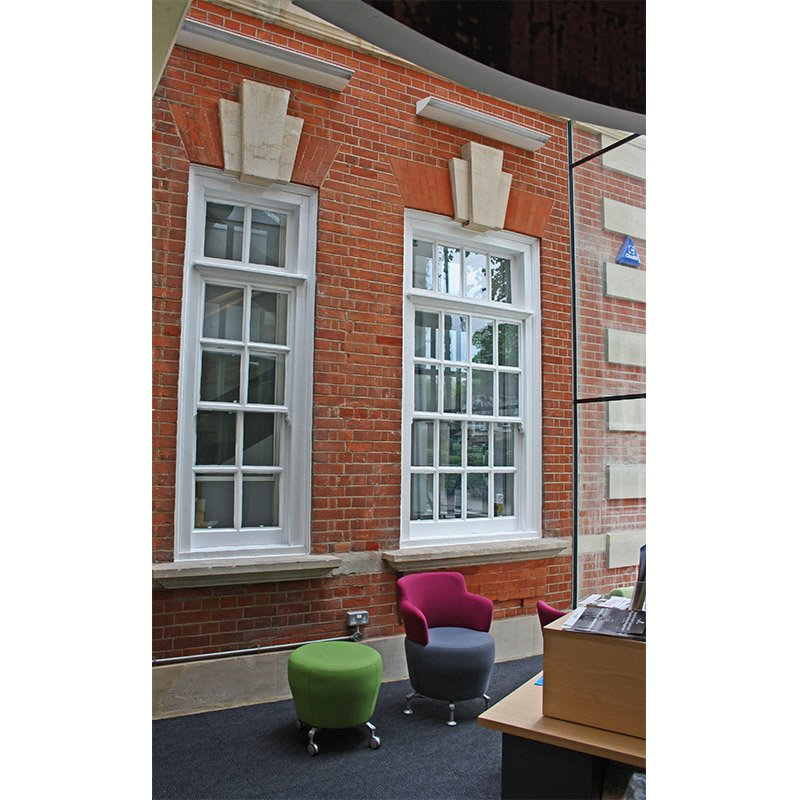 Original primary windows - Enfield Library