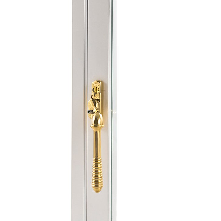 Selectaglaze hinged casement special ironmongery - reeded handles