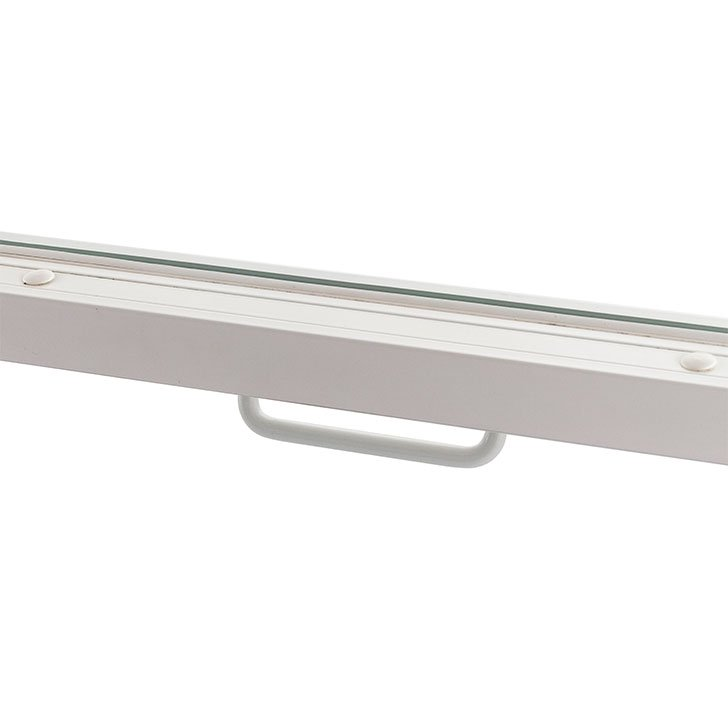 H17 Cranked D Handle for Series 25 vertical sliding secondary glazing