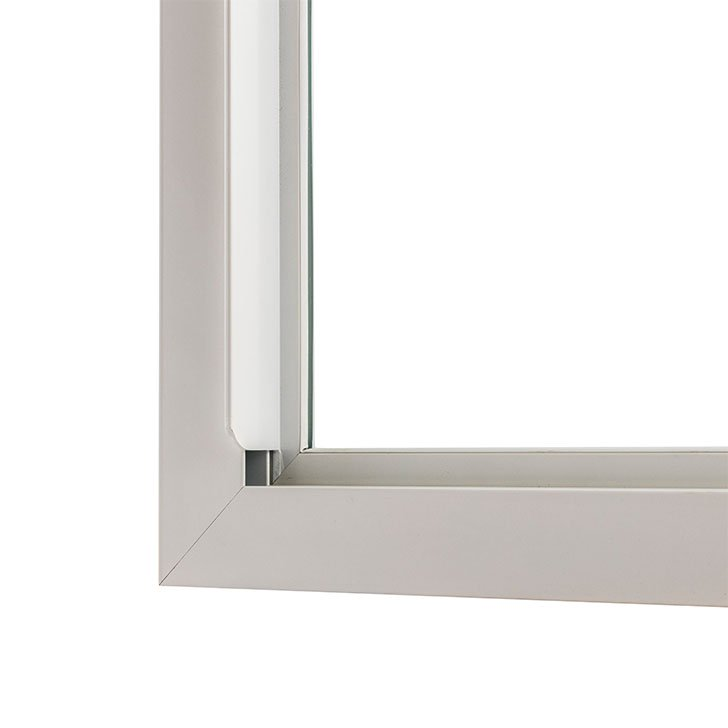 Hi integral finger pull for selectaglaze secondary glazing lift out units