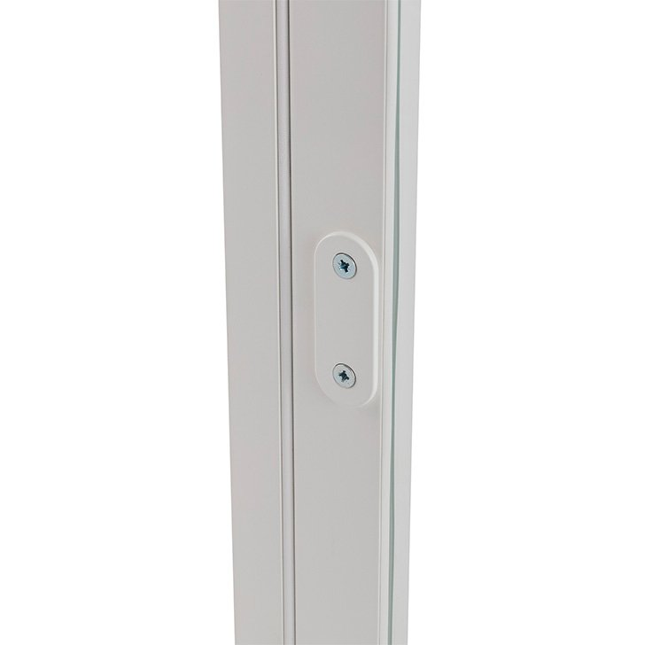 H22 flush lock with security cover plate for Selectaglaze hinged casement secondary glazing