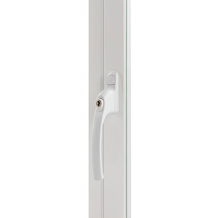 H6 slimline handle for hinged casement secondary glazing by Selectagalze