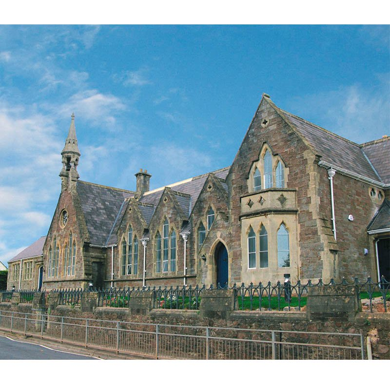 Northleaze Primary School converted to residential