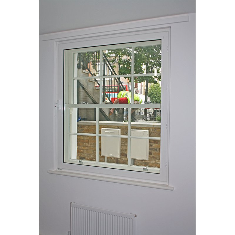 Hinged casement secondary double glazing - retain original sightlines