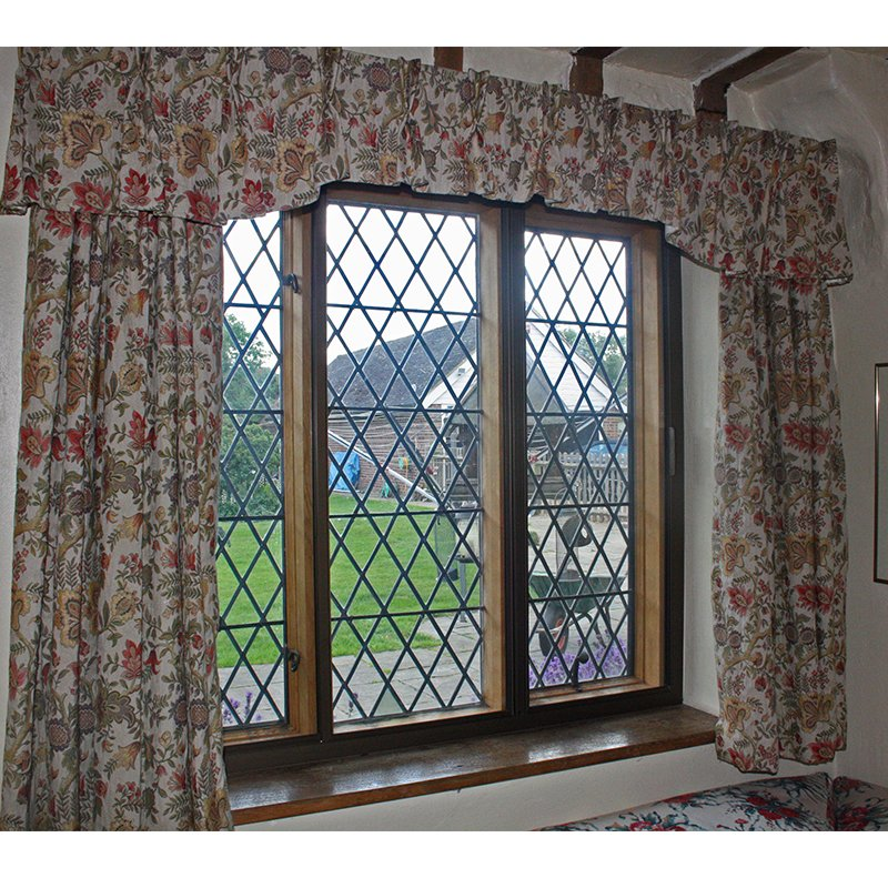 Great Batchelors - 15th Century Grade II* - given 21st century environmental comfort with the addition of bespoke secondary double glazing