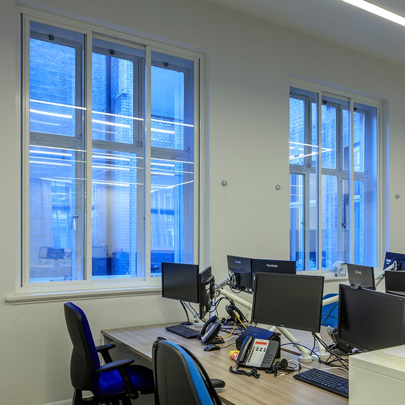 Grade II* Listed Offices at Royal College of General Practitioners with Selectaglaze acoustic insulating secondary glazing
