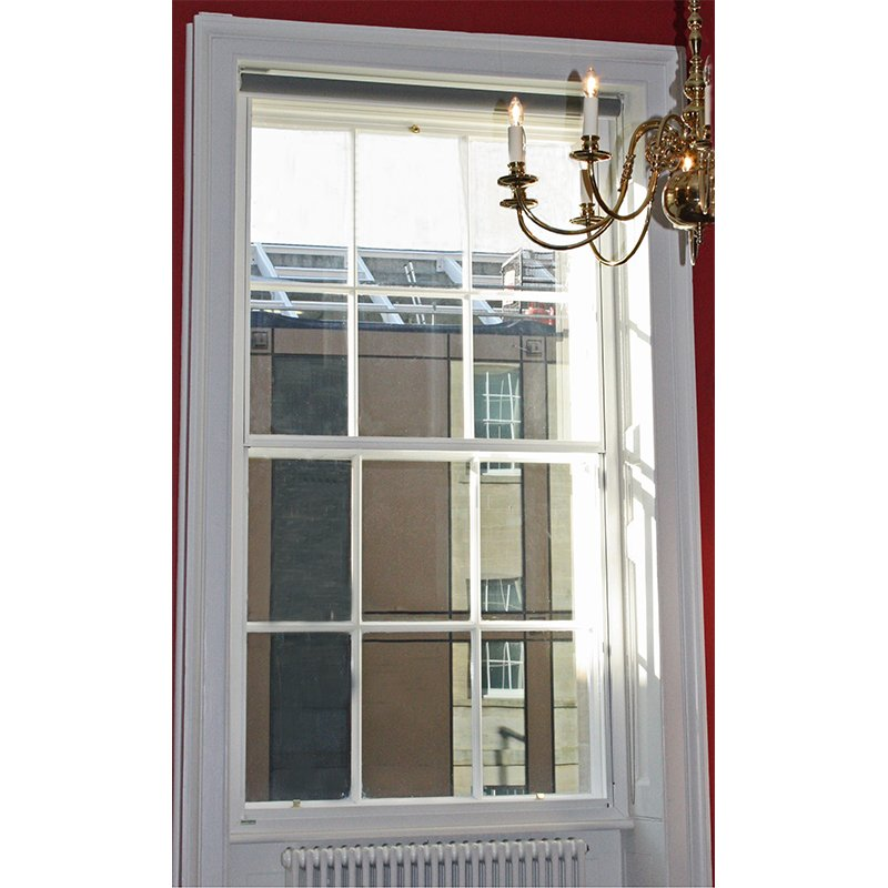 Radcliffe Infirmary secondary glazed vertical sash slider