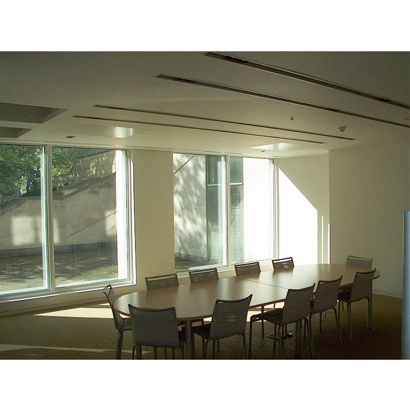Selectaglaze demountable fixed light series 55 at the British Council offices